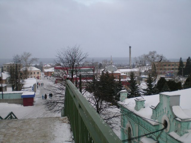 Фото города Инза в Ульяновской области